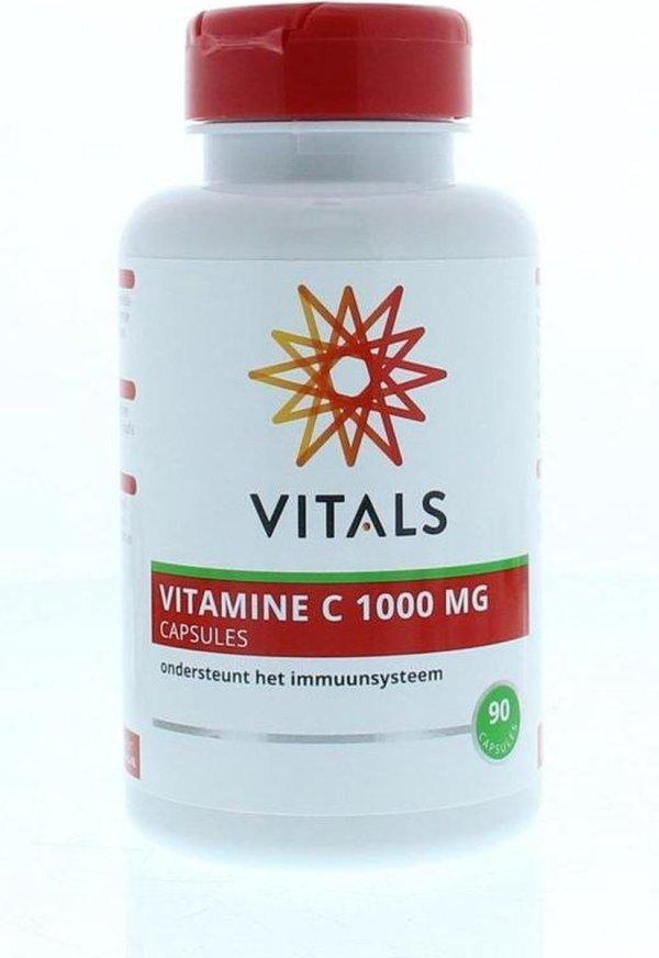 VITAMINE C 1000 MG CAPSULES 90 CAPSULES - *Vegan* | Vitals