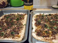 flatbreads ready for the oven