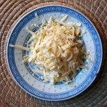 grated vegan cheese