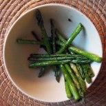 quick-sauteed asparagus
