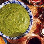 broccoli + watercress sauce