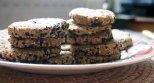 spelt, oatmeal + blackseed biscuits