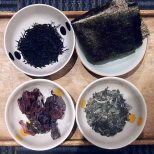 cw: arame, nori, wakame and dulse