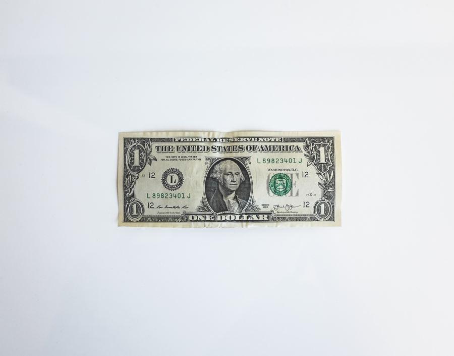 dollar sedel