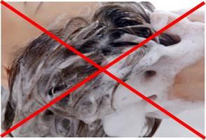 『湯シャン』とは、シャンプーなどの頭髪洗浄剤を使わずに頭を洗う方法です。