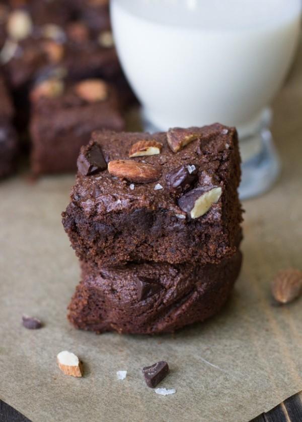 Almond-Butter-Brownies