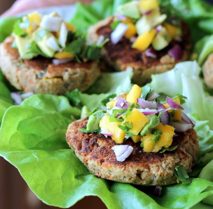 lentil vegan burgers