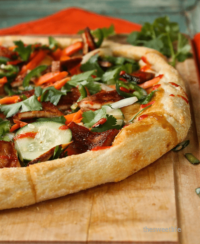vegan banh mi pizza recipe