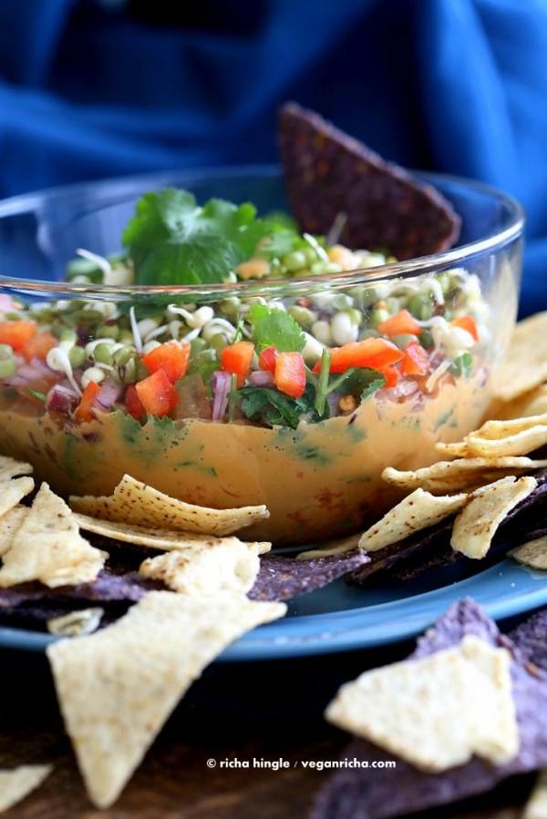vegan thai-layer-dip