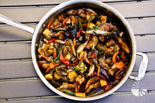 vegan thai_basil_eggplant