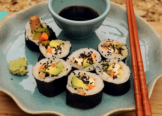 vegan sushi rice