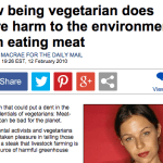 The Daily Mail Have Made Complete Asses of Themselves with Anti-Vegetarian Claims