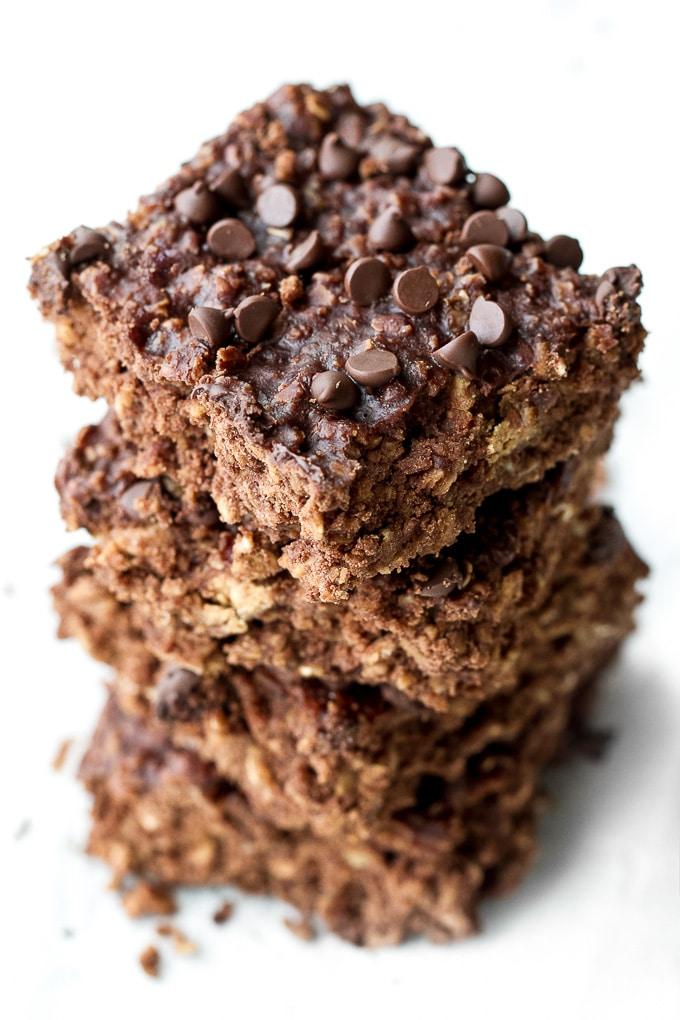 Soft Baked Breakfast Brownies