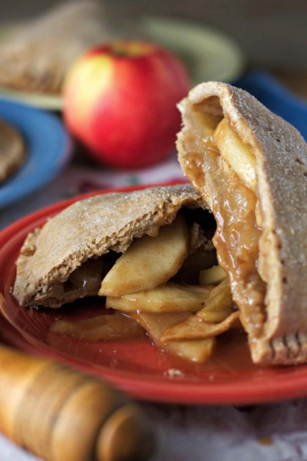 vegan apple hand pies