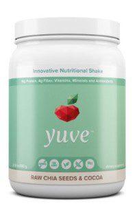 yuve vegan protein shake