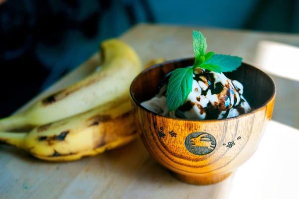 Balsamic Banana Ice Cream