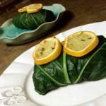Rosemary, Potato & Chickpea Collard Green Wraps