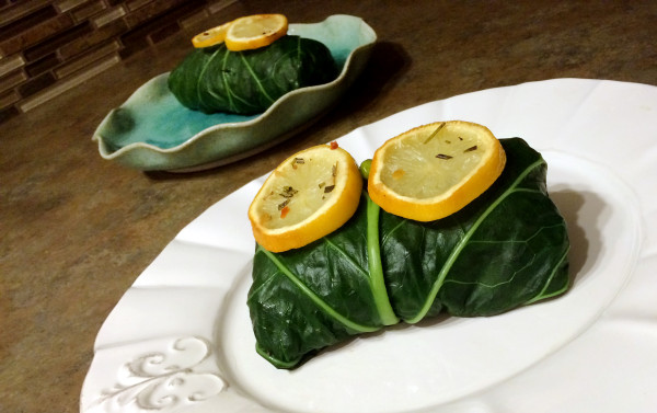 Rosemary Potato Chickpea Collard Green Wraps 2