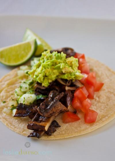 vegan asada tacos