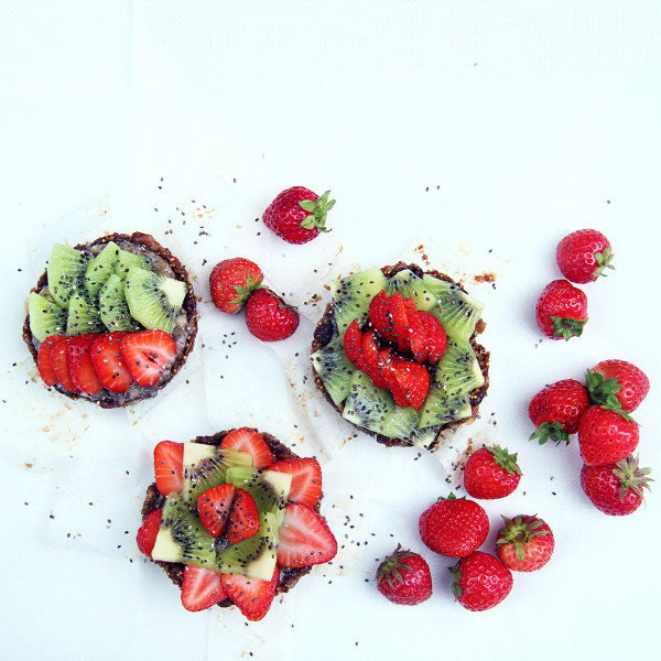 raw vegan tarts