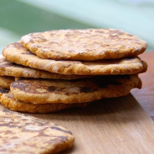 sweet potato naan bread