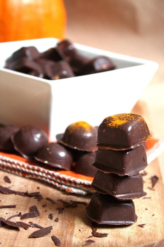 Orange Cream Filled Chocolates