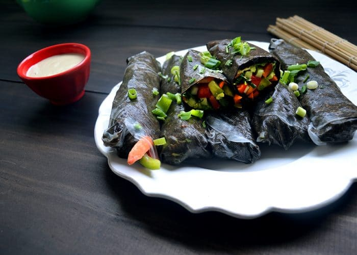 Raw Vegan Summer Rolls