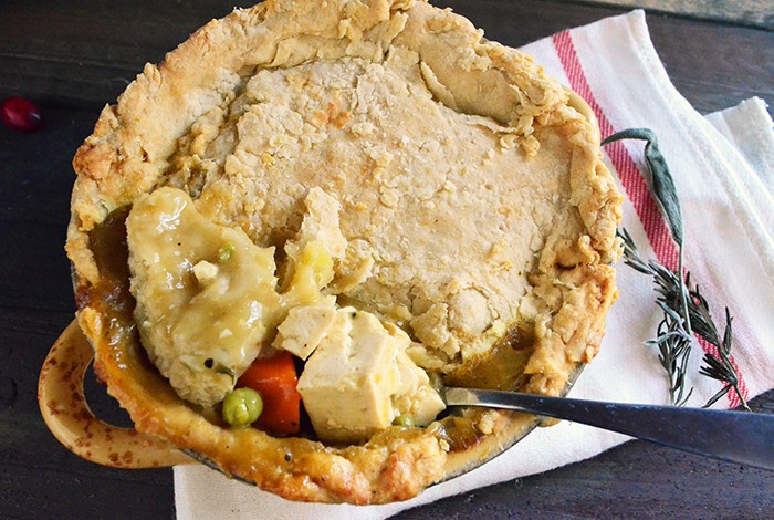 Individual Vegan Pot Pies