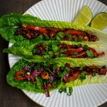 Spicy Thai Tofu Lettuce Wraps