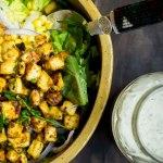 Smoky Tofu & Ranch Salad