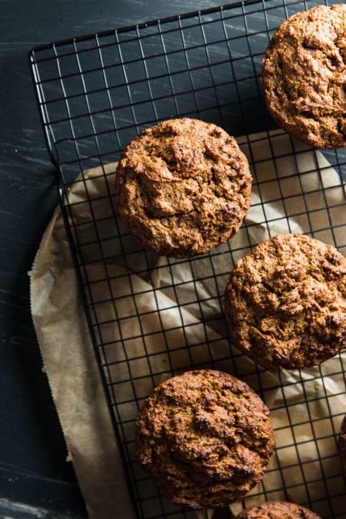 Vegan Multigrain Carrot Muffins