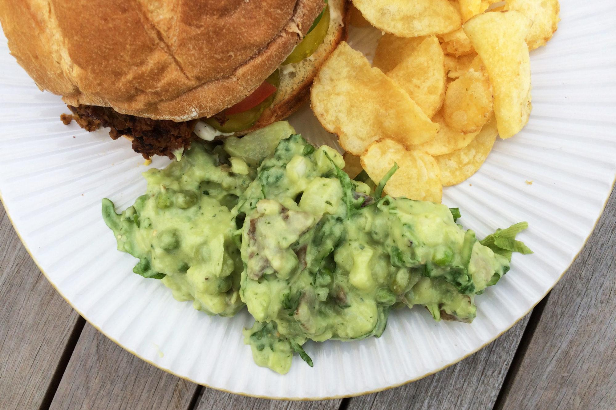 Vegan Green Goddess Potato Salad