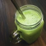 Sweet & Creamy Vanilla Green Smoothie