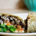 How to Roll a Burrito Like a Pro + Homemade Salsa