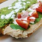 Veggie Subs with White Bean Pâté and Horseradish Dressing