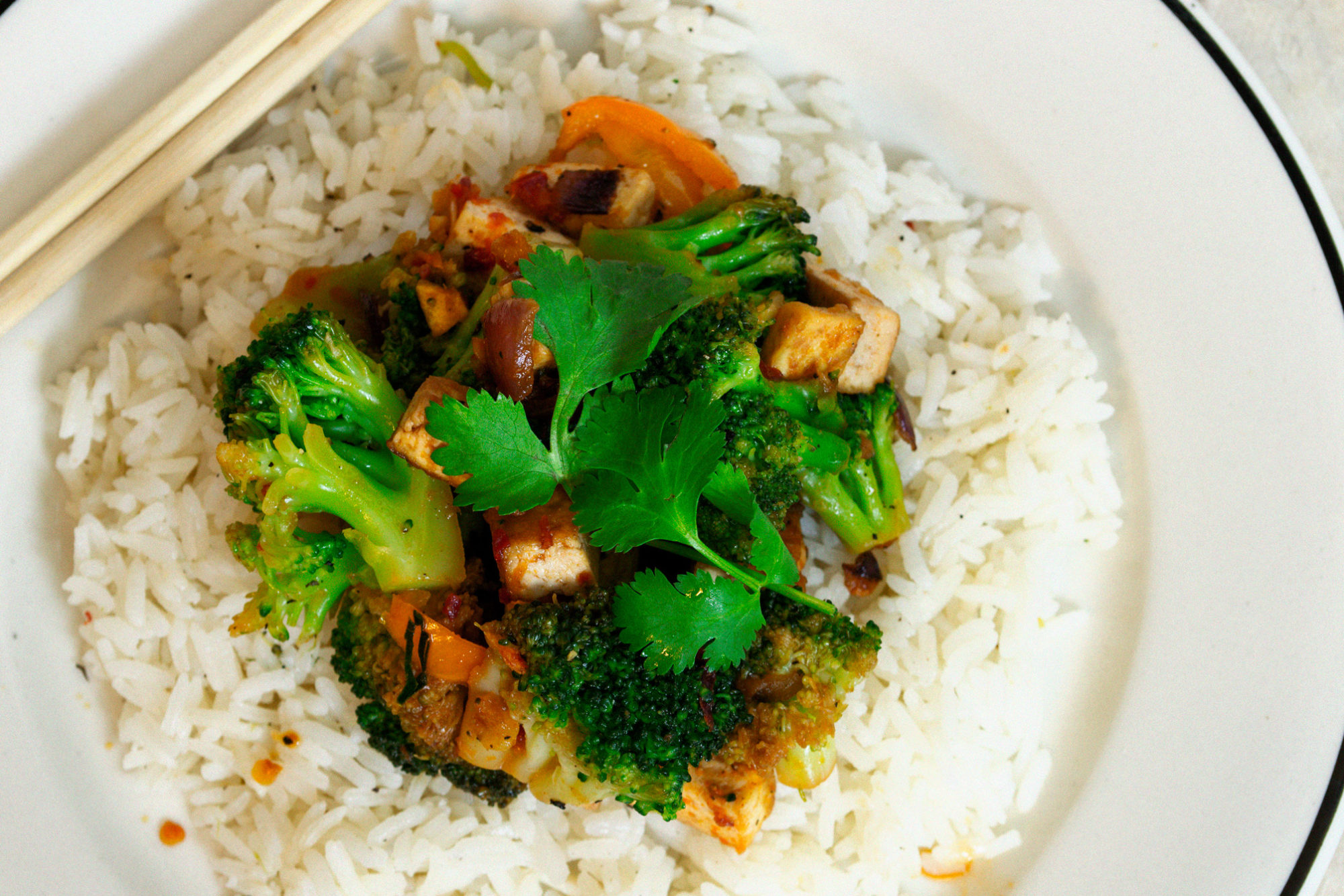 fast easy broccoli stir fry vegan