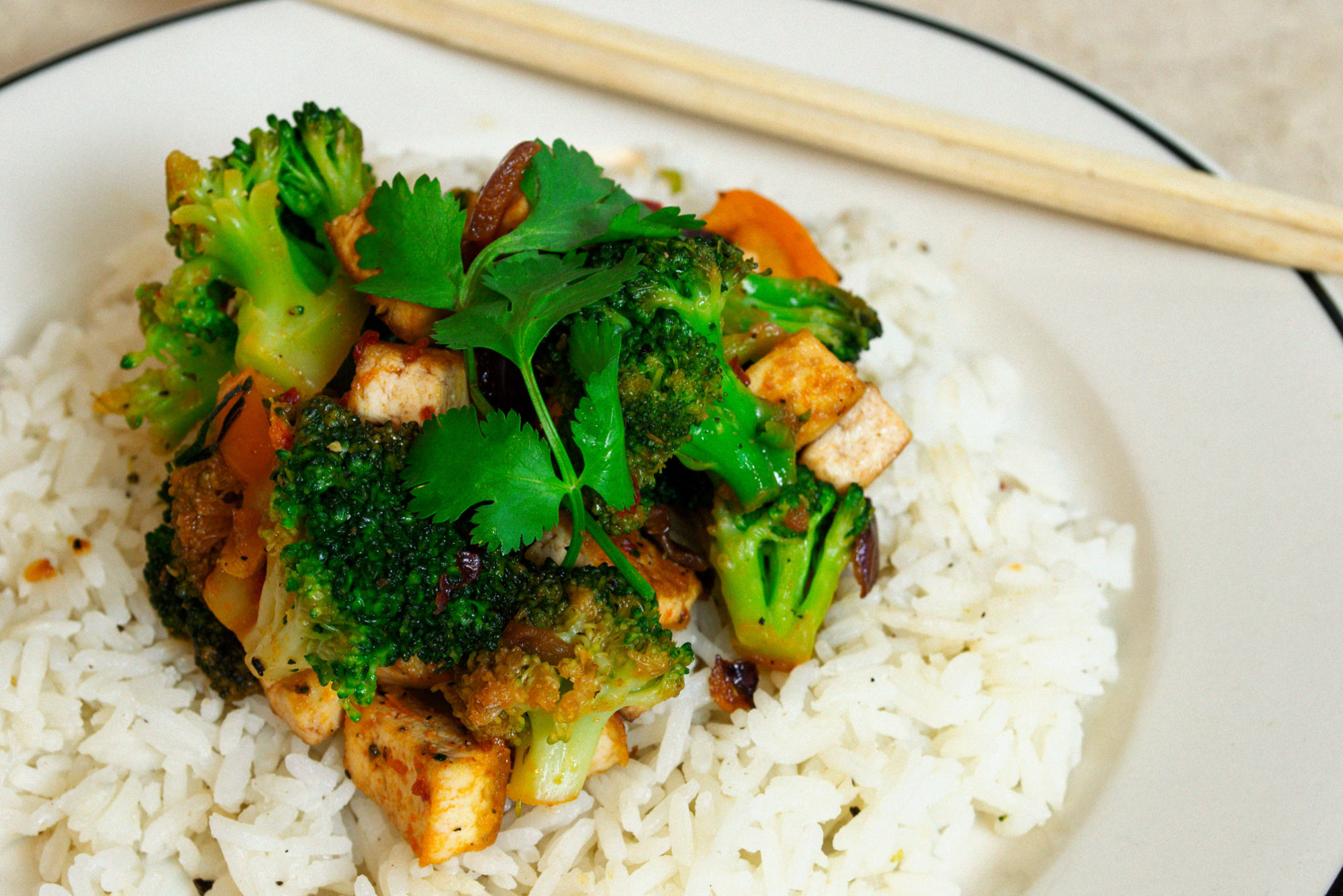 Super Fast and Easy Broccoli Stir-Fry