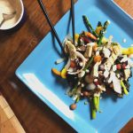 Rainbow Stir-Fry with Zesty Tahini Dressing