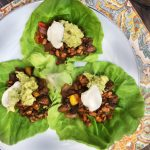 Low-Carb Tempeh Taco Lettuce Wraps