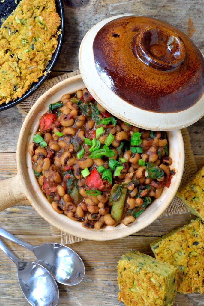 Smoky Cajun-Style Black-Eyed Peas