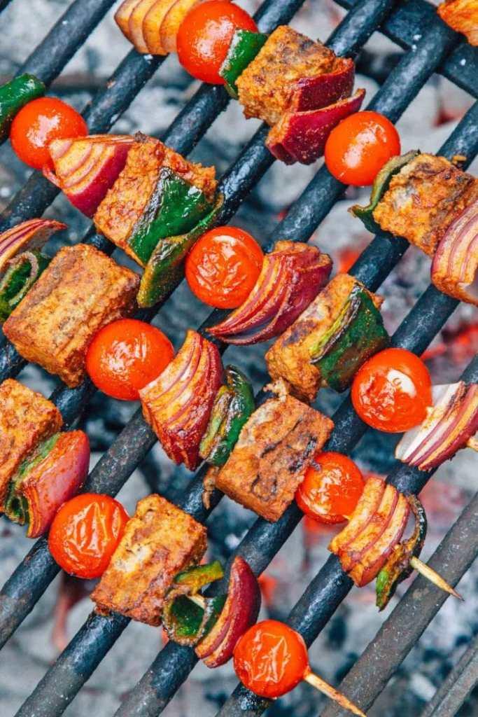 Vegan Kebab Taco