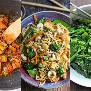 vegan chinese recipes