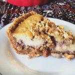 Caramel Walnut Cheesecake with Graham Cracker Crust