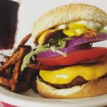Copycat Checkers & Rally's Champ Burger and Fries