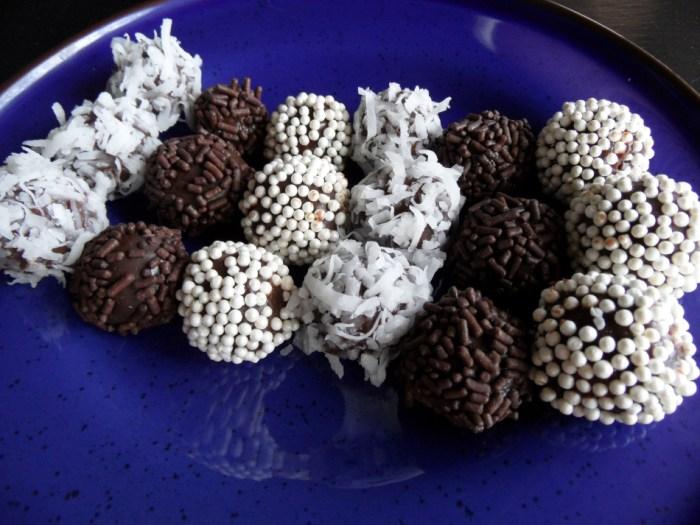 Brazilian Brigadeiros (Chocolate Bonbons)