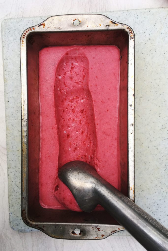 vegan raspberry ice cream recipe