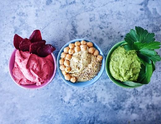 Hummus Trilogie Vegan