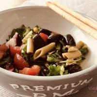 Groene Erwten-Pasta Salade