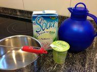Sojajoghurt & -milch...