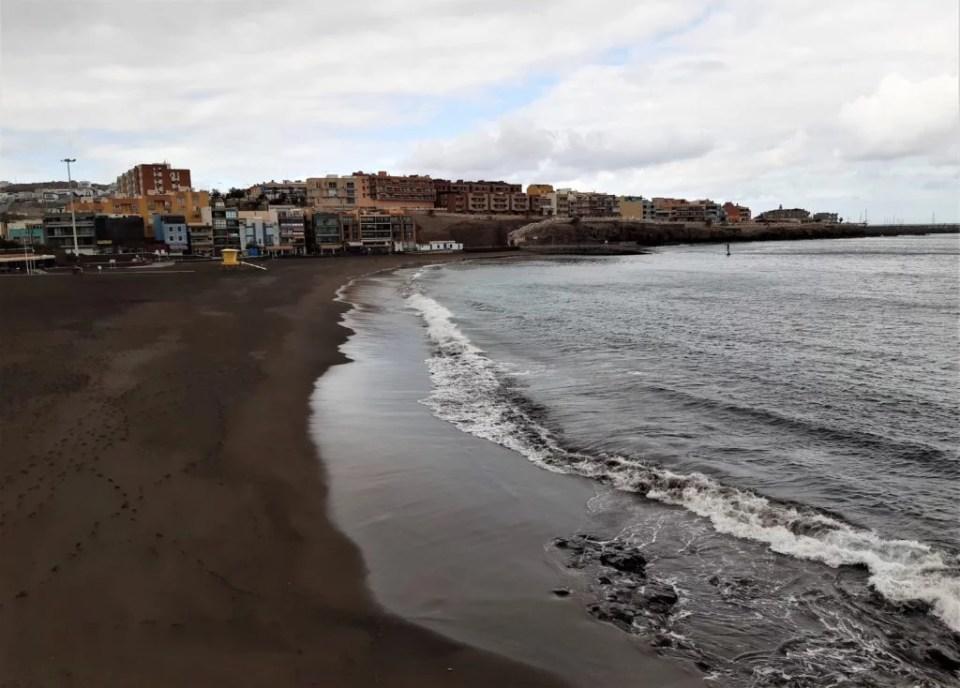 Deserted beach Gran Canaria